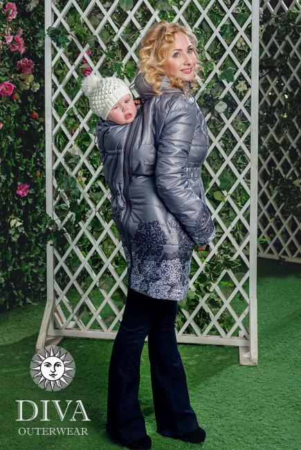Perle babahordozó kabát 4 in 1 funkcióval-Diva Milano