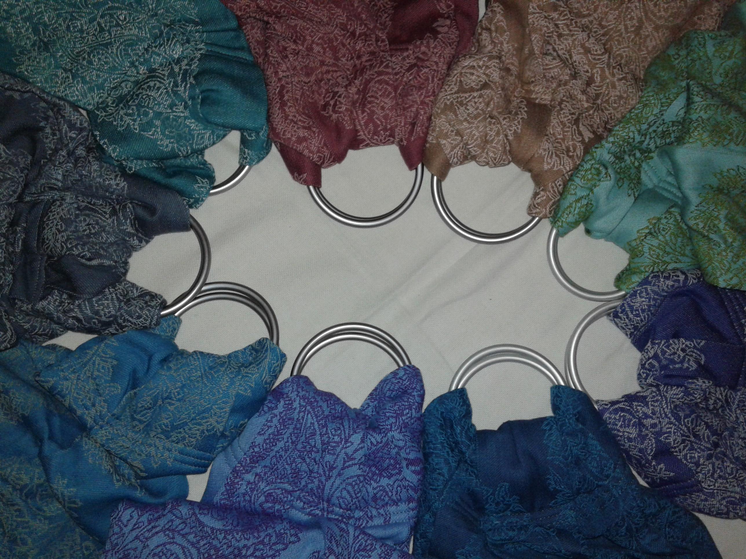 karikás kendők, Divák, sok színben elérhető