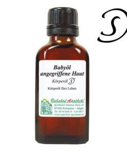 Babaápoló olaj megviselt bőrre-Stadelmann