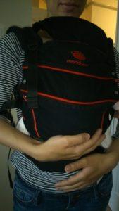 Fiziológiás tartás Manducában 2 hónapos baba