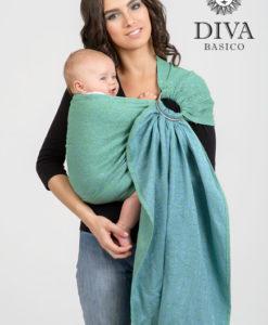 Lime Diva Basico karikás kendő