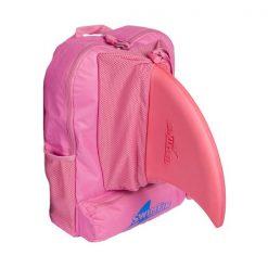 Rózsaszín hátizsák swimfin cápauszonyhoz
