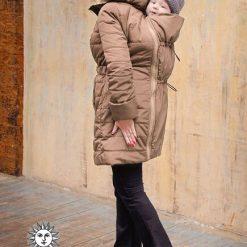 Moka Diva Milano babahordozó kabát