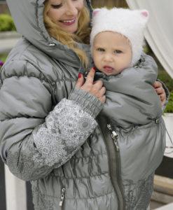 Perla Diva babahordozó kabát 3 az 1-ben