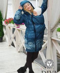 Azzurro Diva babahordozó kabát 3 az 1-ben