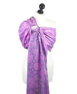 Iced Butterfly - violet Fidella karikás kendő